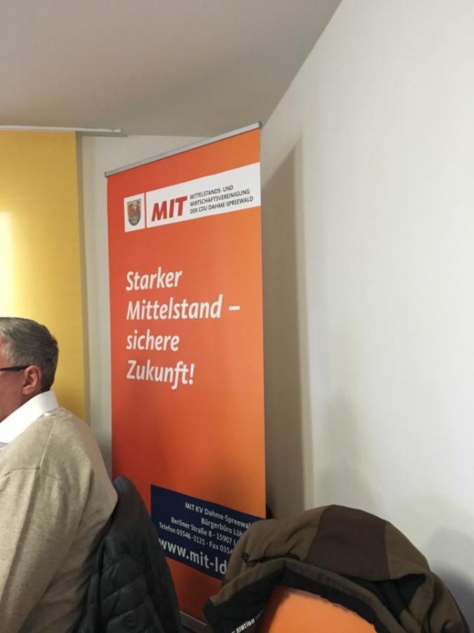 Unternehmer-Frühstück bei der Firma Agrarhandel & Service GmbH Dürrenhofe