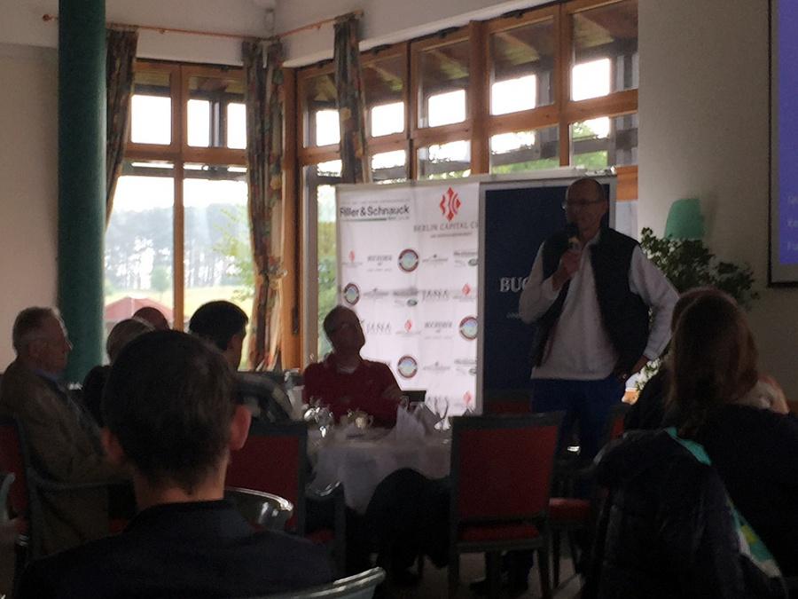 Unternehmer-Frühstück im Golfclub Motzen