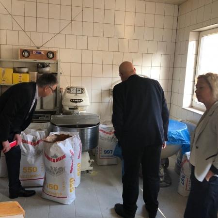Unternehmerfrühstück 10.04.18 bei der Bäckerei Kuske in Schönwalde
